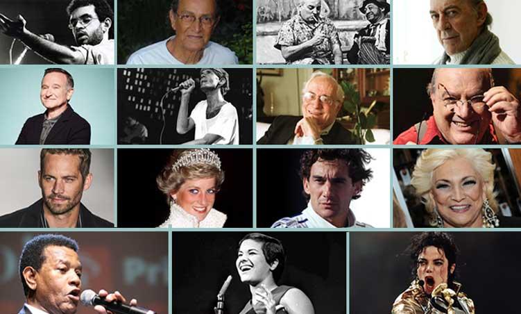 10 famosos cremados, 10 famosos sepultados e algumas perguntas que você talvez não saiba responder.